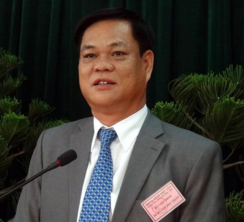 Bí thư Tỉnh ủy Phú Yên được điều động về trung ương - ảnh 1