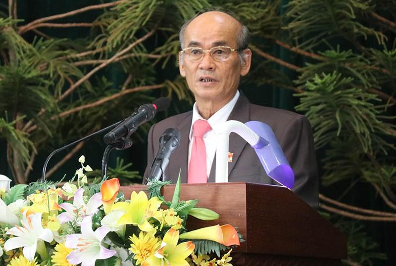 Ông Huỳnh Tấn Việt xin thôi chức chủ tịch HĐND tỉnh - ảnh 2