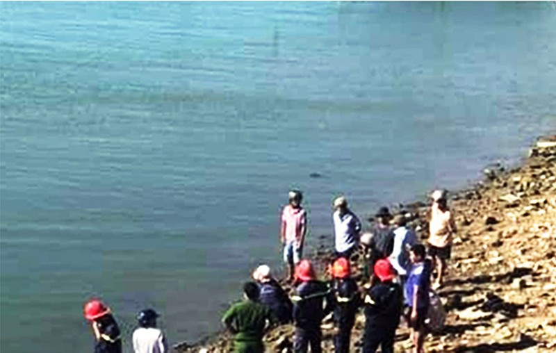 Một bé gái chết đuối ở đầm Thị Nại sau khi cứu em trai - ảnh 1