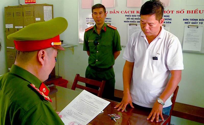 Bắt tạm giam một cựu Trung tá không quân - ảnh 1