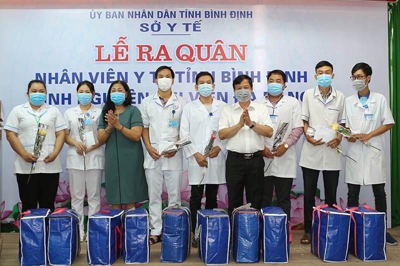 25 nhân viên y tế tình nguyện hỗ trợ Đà Nẵng chống dịch - ảnh 1