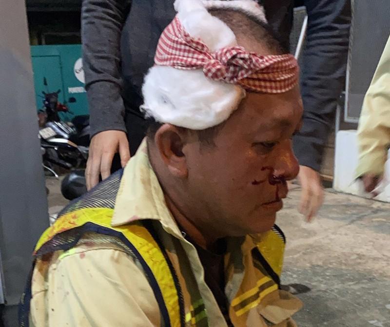 2 nhân viên trạm BOT bị đánh trọng thương khi đang làm việc - ảnh 2