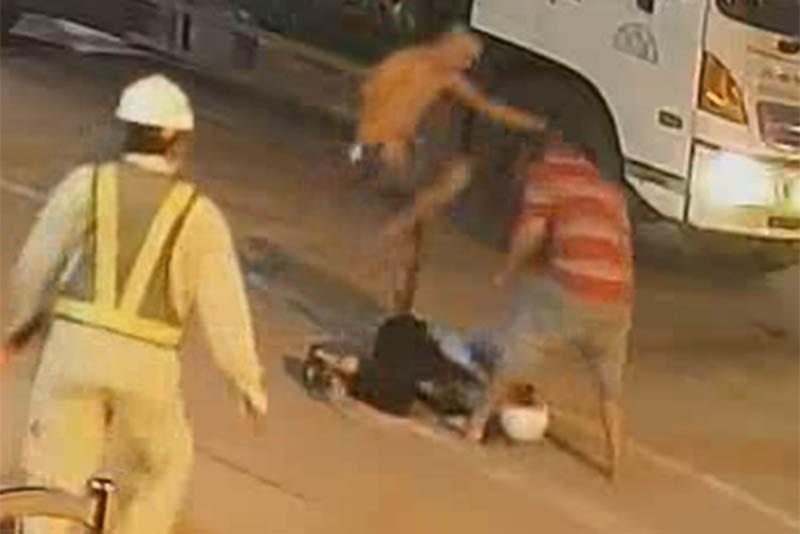 Bắt 2 người hành hung nhân viên trạm BOT Ninh Xuân - ảnh 1