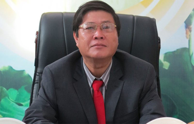 1 cựu chủ tịch huyện bị khởi tố - ảnh 1