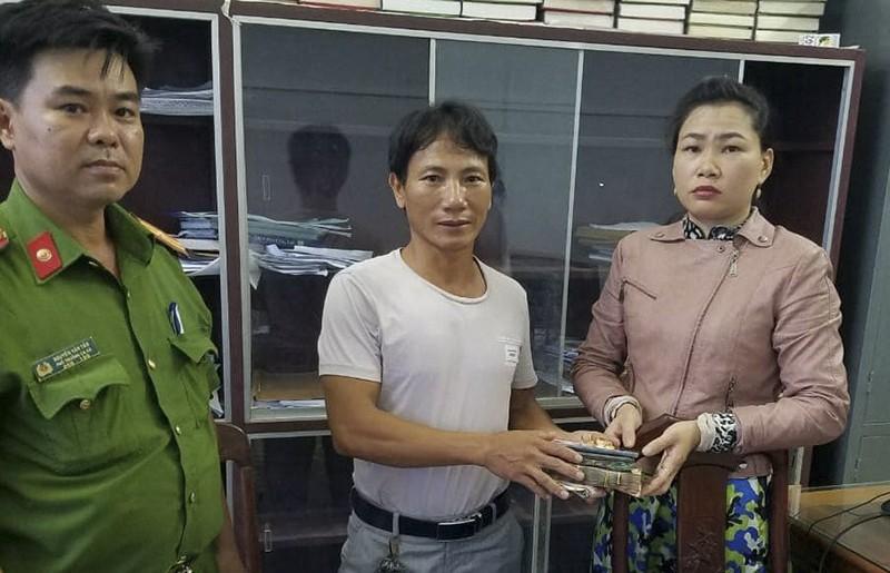 Bình Định: Trả 87 triệu đồng và tài sản cho người đánh rơi  - ảnh 1
