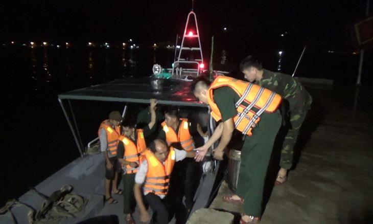 Lũ cuốn mất tích người đi bắt cá ven sông Lại Giang - ảnh 2