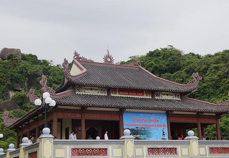 Khánh thành đền thờ anh hùng dân tộc Nguyễn Trung Trực   - ảnh 5