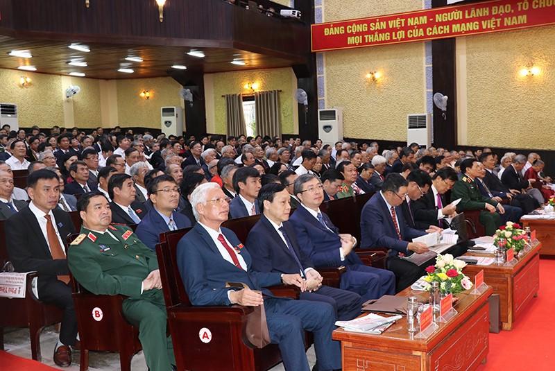 Đại tướng Ngô Xuân Lịch phát biểu chỉ đạo ĐH Đảng bộ Phú Yên - ảnh 4