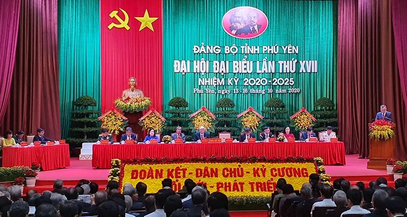 Đại tướng Ngô Xuân Lịch phát biểu chỉ đạo ĐH Đảng bộ Phú Yên - ảnh 3