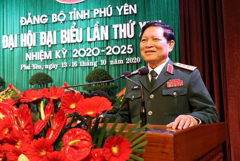 Đại tướng Ngô Xuân Lịch phát biểu chỉ đạo ĐH Đảng bộ Phú Yên - ảnh 5
