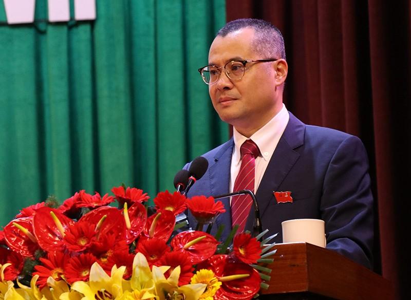 Đại tướng Ngô Xuân Lịch phát biểu chỉ đạo ĐH Đảng bộ Phú Yên - ảnh 2