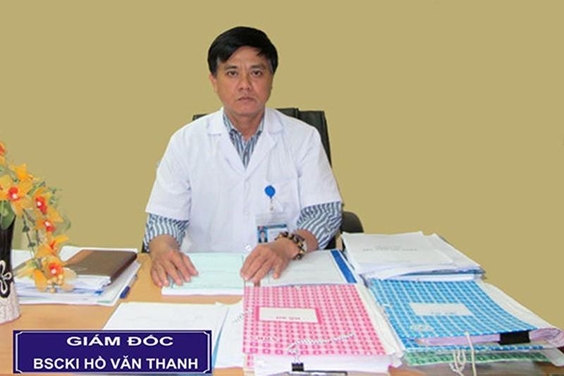 Cách chức giám đốc bệnh viện Sản - Nhi Phú Yên - ảnh 1