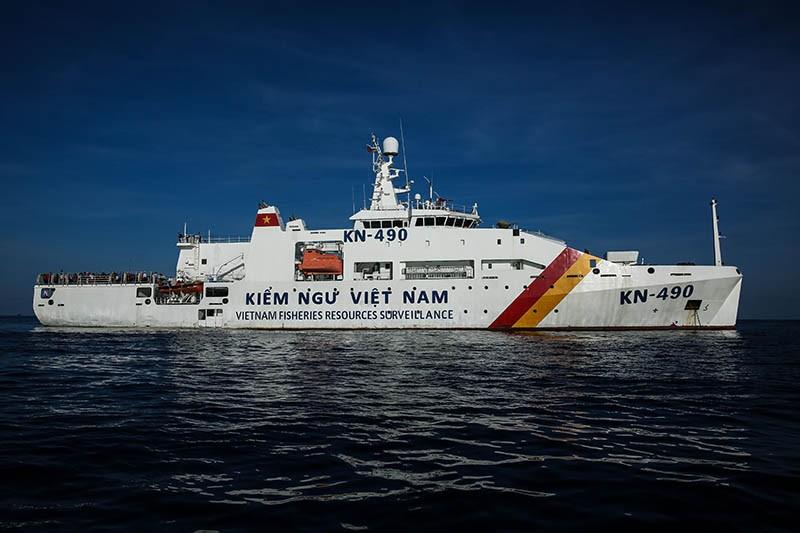 3 tàu kiểm ngư tìm kiếm ngư dân Bình Định mất liên lạc - ảnh 1