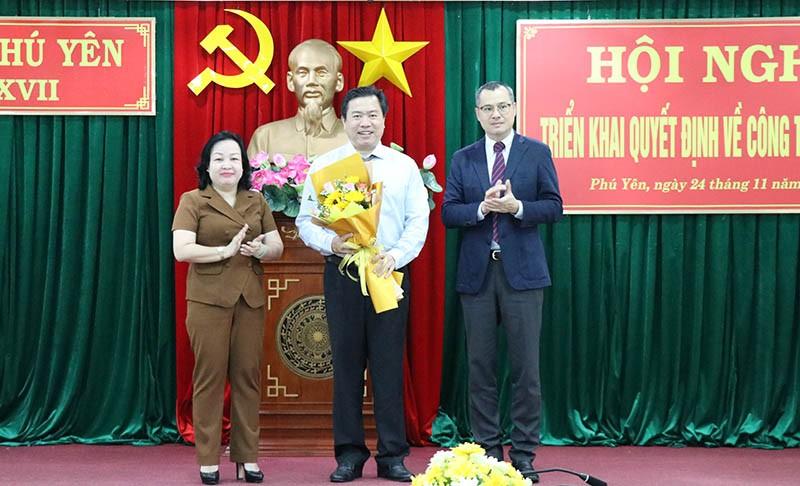 Phú Yên điều động, bổ nhiệm nhiều lãnh đạo chủ chốt - ảnh 1