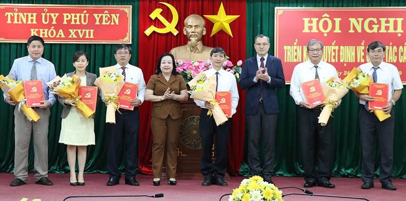 Phú Yên điều động, bổ nhiệm nhiều lãnh đạo chủ chốt - ảnh 3