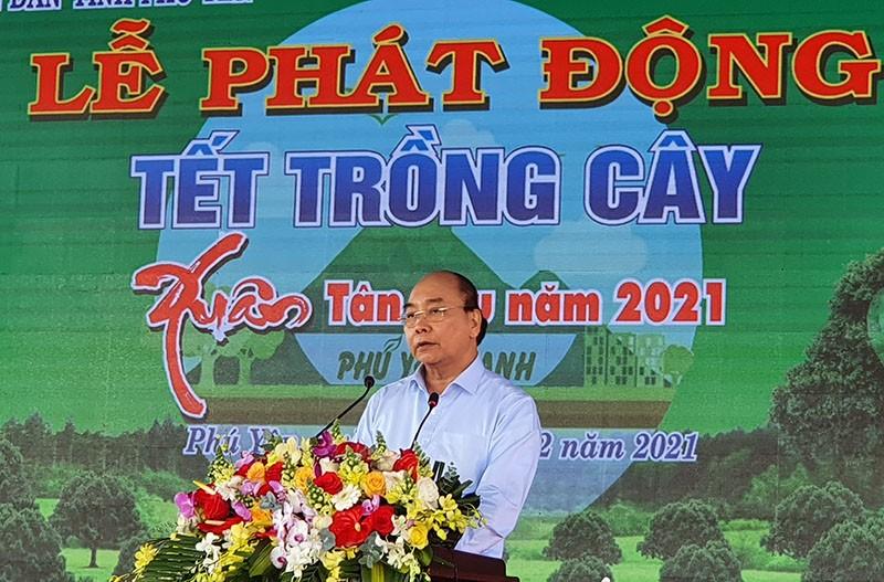 Thủ tướng: Hãy vì một Việt Nam xanh! - ảnh 1