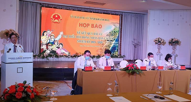 Danh sách trúng cử đại biểu HĐND tỉnh Khánh Hòa - ảnh 1