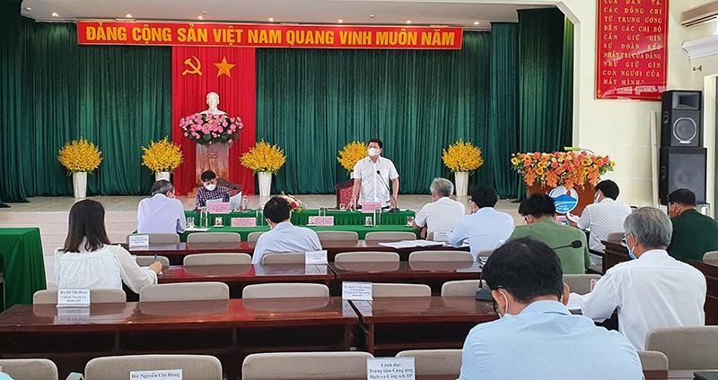 Thực hiện giãn cách toàn TP Tuy Hòa từ 15 giờ ngày 24-6 - ảnh 1