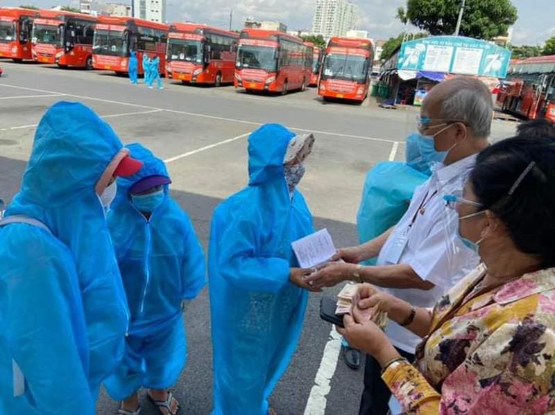 Danh sách 698 người dân Phú Yên tại TP.HCM được đón về quê đợt 18 - ảnh 1