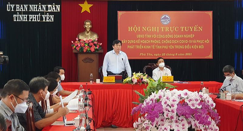 Chủ tịch tỉnh Phú Yên: Mở cửa an toàn để khôi phục sản xuất, kinh doanh - ảnh 3