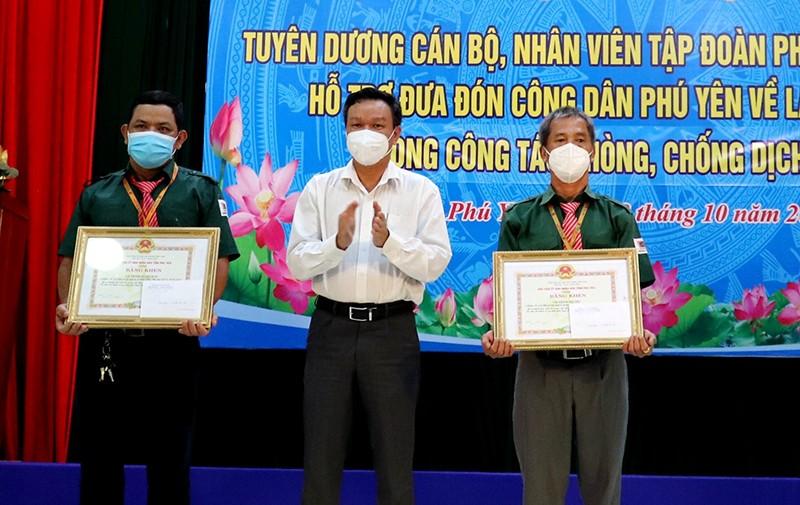 Phú Yên đưa gần 17.000 người về quê trên 730 chuyến xe nghĩa tình - ảnh 2