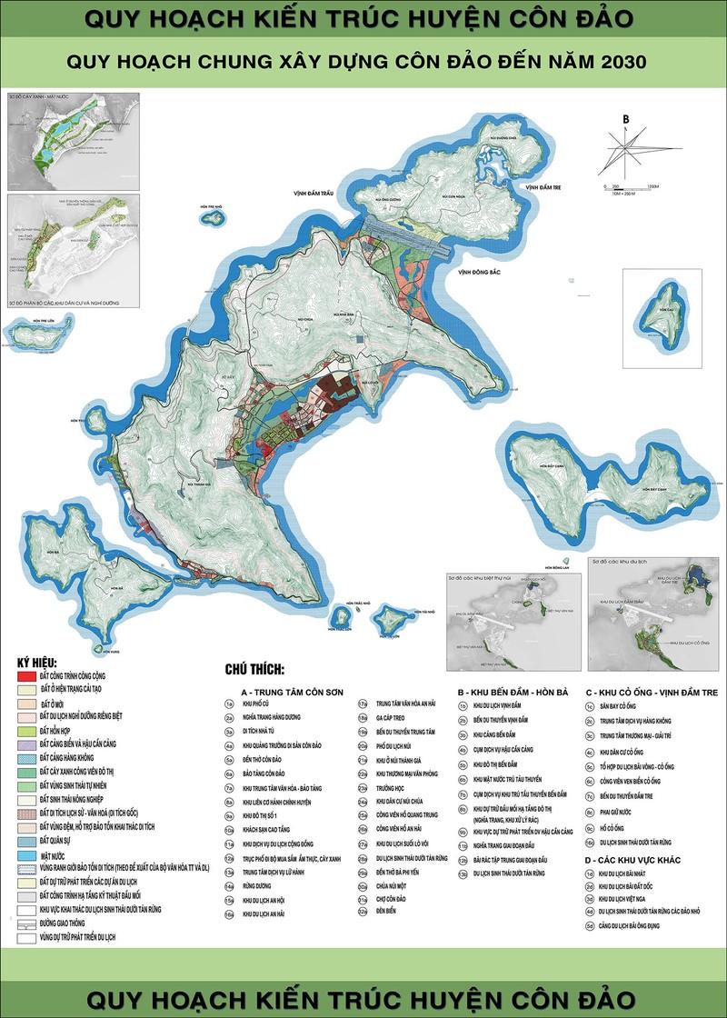 Gỡ vướng dự án khu tái định cư 'đụng' rừng cây ở Côn Đảo - ảnh 1