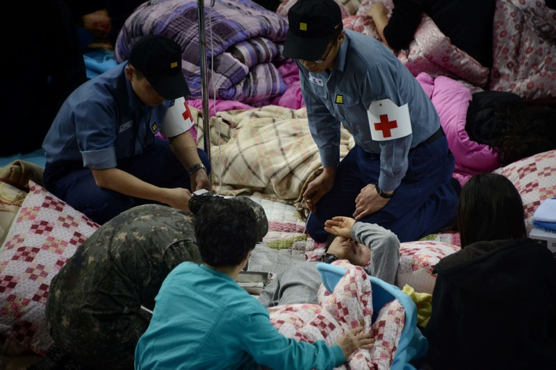Vụ đắm phà SEWOL: đã có 58 thi thể được tìm thấy - ảnh 2