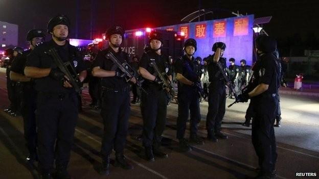 An ninh ở Bắc Kinh được siết chặt - ảnh 1