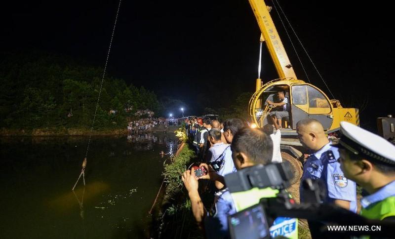 Xe buýt chở trẻ mầm non gặp nạn ở Trung Quốc, không ai sống sót - ảnh 1