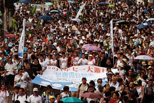 Hồng Kông vạch lộ trình cải cách dân chủ - ảnh 1