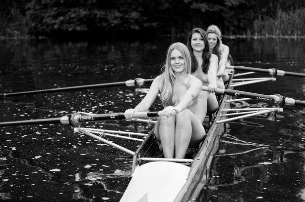 Bộ lịch khỏa thân của các nữ vận động viên chèo thuyền gây bão - ảnh 1