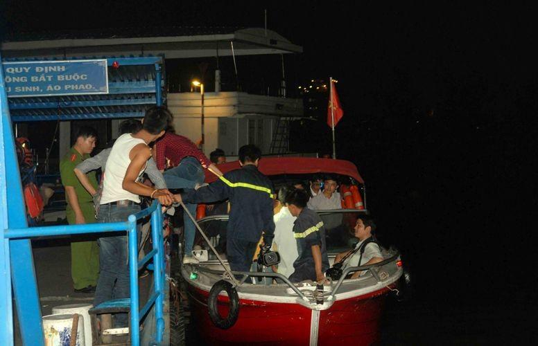 Xà lan gặp nạn trên sông Sài Gòn, một người mất tích - ảnh 5