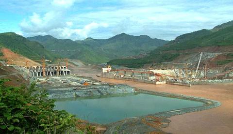 Nguy cơ mất an toàn việc ngăn kênh dẫn dòng thủy điện Lai Châu - ảnh 1