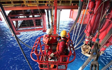 Xác nhận vị trí hiện tại của giàn khoan Hải Dương 981 - ảnh 1
