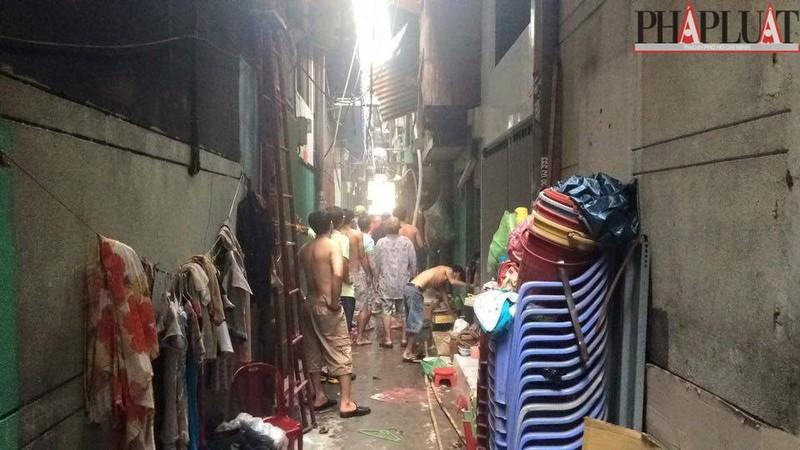 Cháy dữ dội hàng loạt căn nhà giữa trung tâm Sài Gòn - ảnh 7