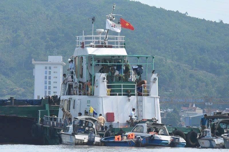Tìm thấy nạn nhân trong vụ tàu thủy đâm chìm tàu ngư dân - ảnh 1