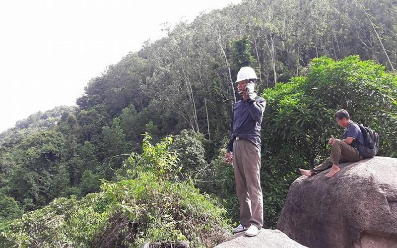 4 hướng tiếp cận tìm trực thăng mất tích trên núi Dinh - ảnh 3