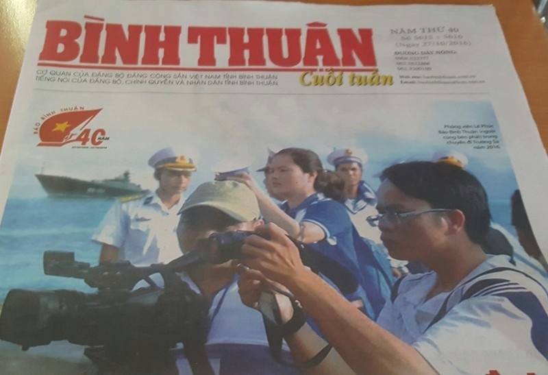 Báo Bình Thuận kỷ niệm 40 năm ngày thành lập - ảnh 1