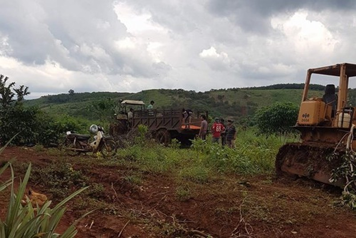 Toàn cảnh vụ công ty cưỡng chế đất, 3 người bị bắn chết - ảnh 2