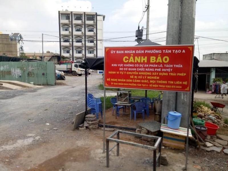 Quận Bình Tân làm việc với các công ty rao bán dự án 'ma'  - ảnh 1