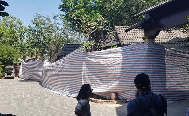 Bắt đầu cưỡng chế Gia Trang quán Tràm Chim Resort  - ảnh 4