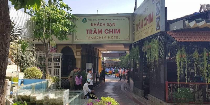 Bắt đầu cưỡng chế Gia Trang quán Tràm Chim Resort  - ảnh 3