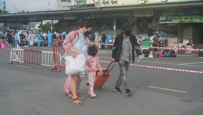 Hơn 2.000 người dân Lâm Đồng được đón về quê - ảnh 9