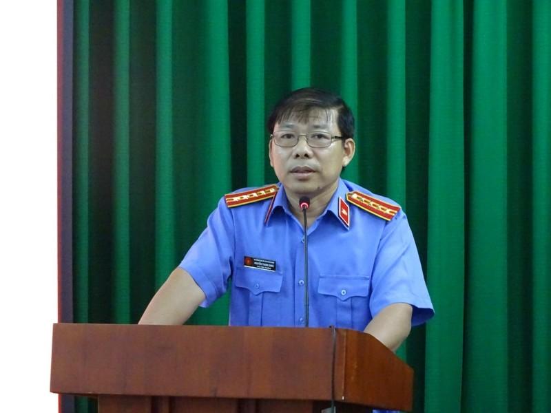 Phó Viện trưởng VKS TP.HCM Nguyễn Thanh Sang là ứng viên ĐBQH - ảnh 1