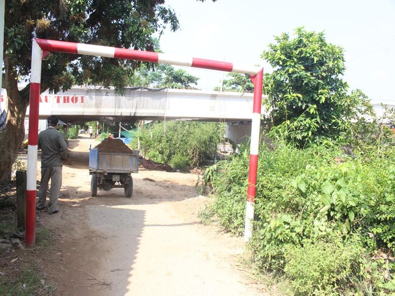 Cầu Mỏ Cày 2 xây thấp, phải 'nạo' nền đường dân sinh - ảnh 1