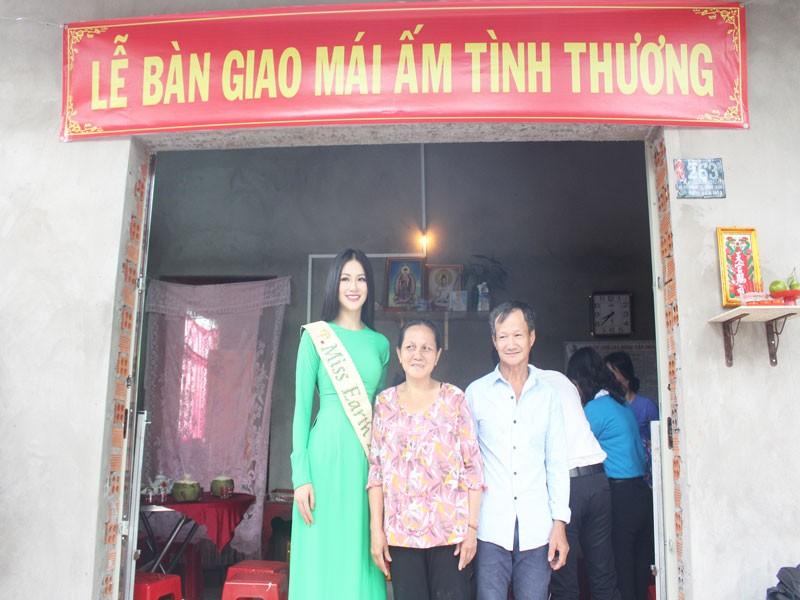 Hoa hậu Phương Khánh về thăm quê nhà Bến Tre - ảnh 8