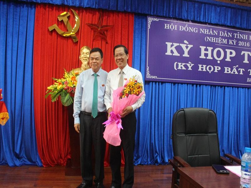 Ông Phan Văn Mãi được bầu làm Chủ tịch HĐND tỉnh Bến Tre - ảnh 1