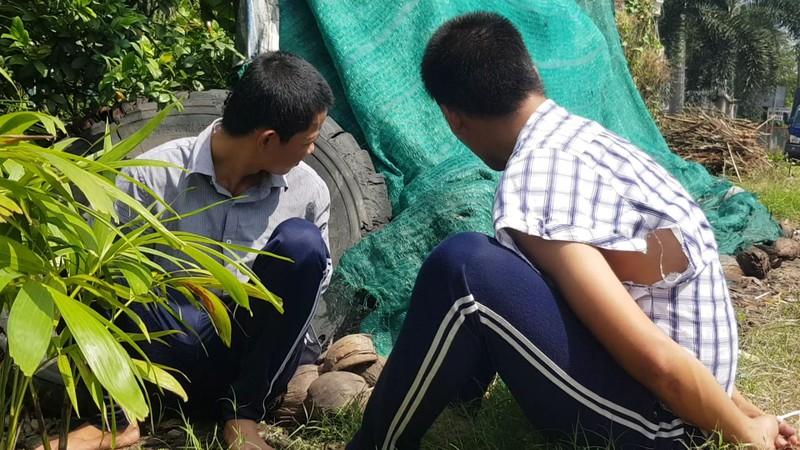 119 học viên trốn khỏi trại cai nghiện ma túy ở Tiền Giang - ảnh 1