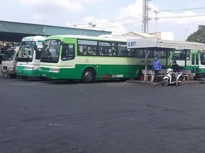 Tiền Giang, Long An tạm dừng vận tải hành khách công cộng - ảnh 2