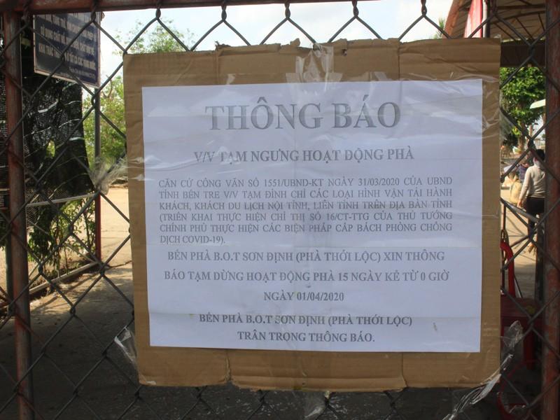 Gỡ bỏ lệnh 'bế quan tỏa cảng' tại bến phà Sơn Định - Ngũ Hiệp - ảnh 2